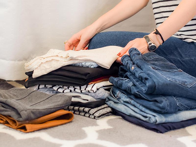 tøj garderobe udskift jeans trøjer tops ny