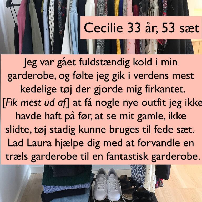 Cecilie 33 år, 53 sæt