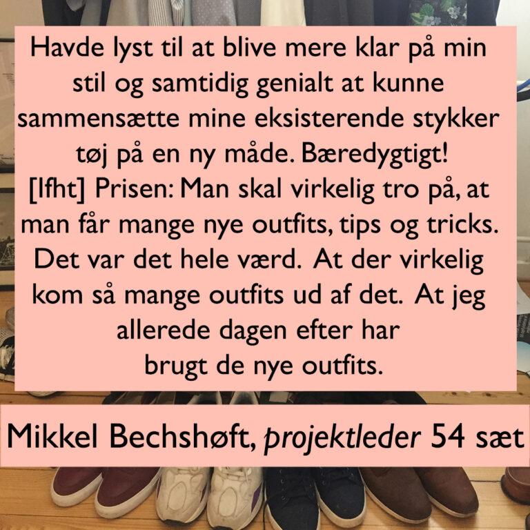 Mikkel Bechshøft 54 sæt