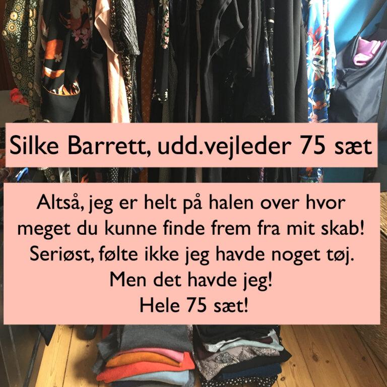 Testimonial Garderobetjek Silke Barrett