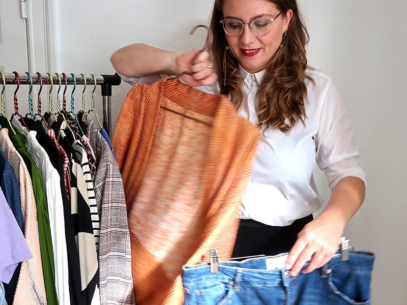 Bag kulisserne på Ritas garderobetjek – før- & efterbilleder